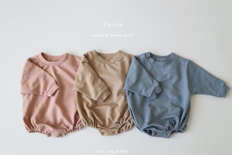 AOSTA - BRAND - Korean Children Fashion - #Kfashion4kids - Malang Bodysuit