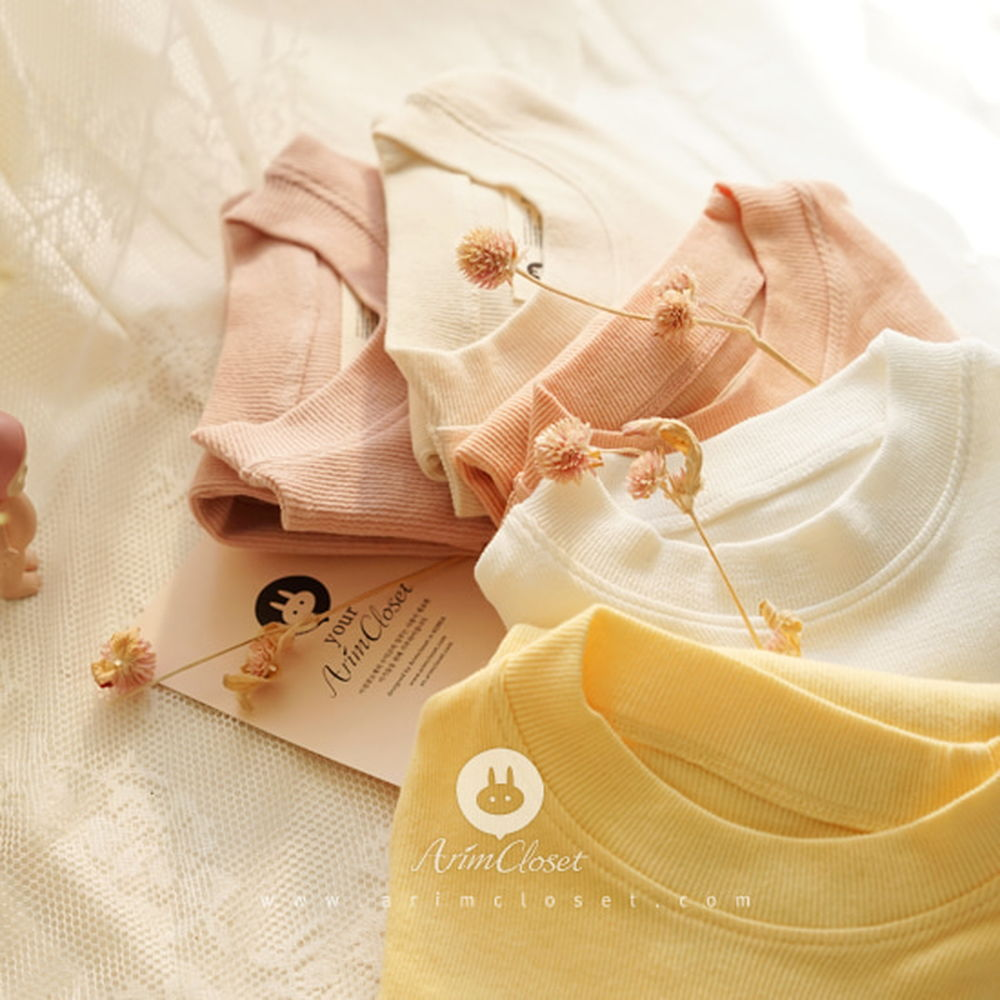 ARIM CLOSET - BRAND - Korean Children Fashion - #Kfashion4kids - Color Basic Homewear