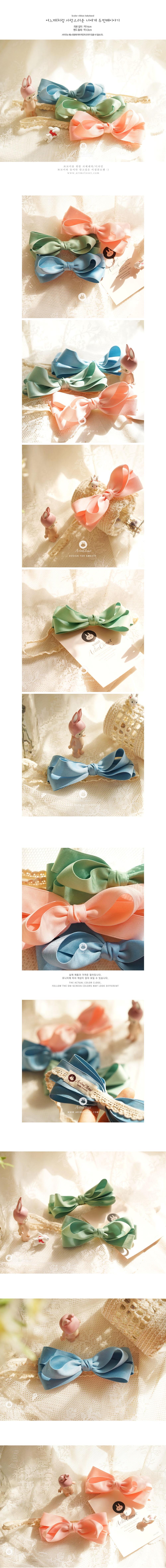 ARIM CLOSET - Korean Children Fashion - #Kfashion4kids - Color Ribbon Hairband - 2