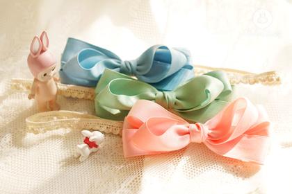 ARIM CLOSET - BRAND - Korean Children Fashion - #Kfashion4kids - Color Ribbon Hairband