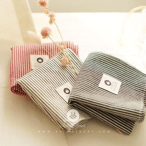 ARIM CLOSET - BRAND - Korean Children Fashion - #Kfashion4kids - Trendy Stripe Petit Scarf