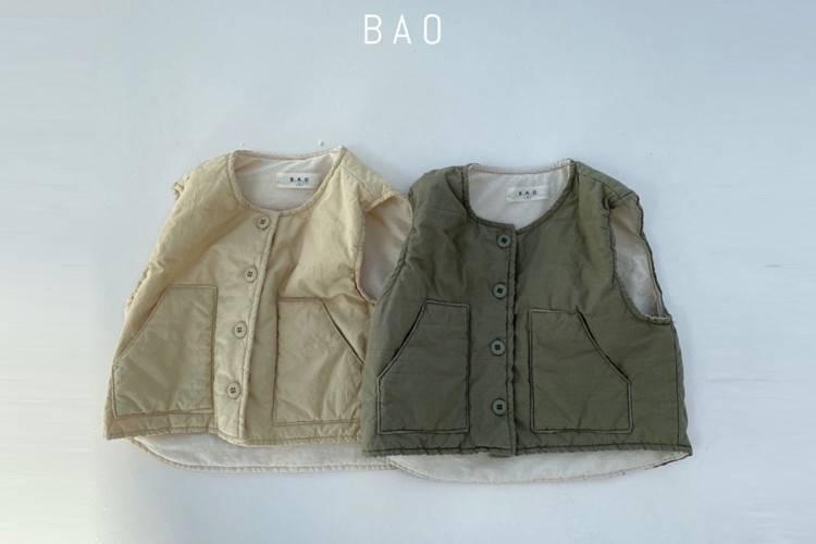 BAO - BRAND - Korean Children Fashion - #Kfashion4kids - Yoyo Vest