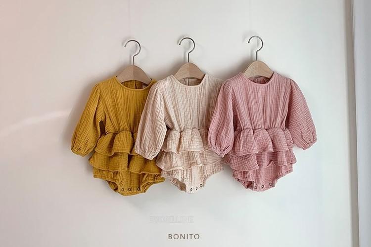 BONITO - BRAND - Korean Children Fashion - #Kfashion4kids - Emily Cancan Bodysuit