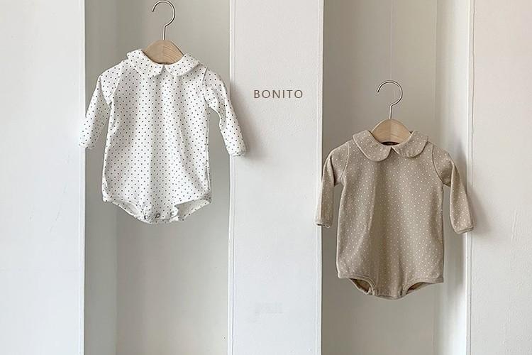 BONITO - BRAND - Korean Children Fashion - #Kfashion4kids - Flat Dot Bodysuit