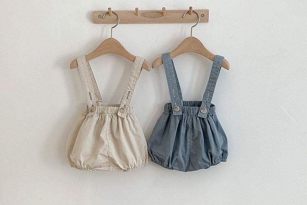 BONITO - BRAND - Korean Children Fashion - #Kfashion4kids - Groomi Suspender Bloomer