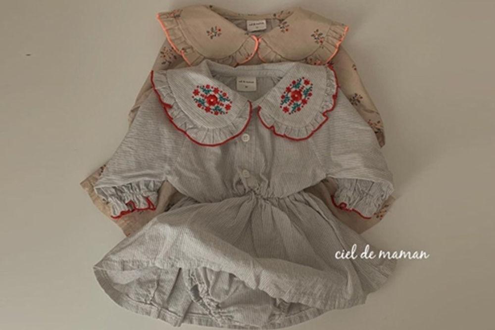 CIEL DE MAMAN - BRAND - Korean Children Fashion - #Kfashion4kids - Julie Bodysuit