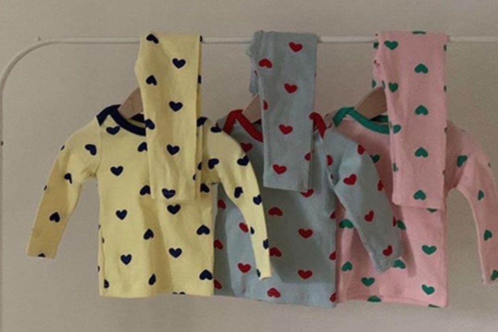 CIEL DE MAMAN - BRAND - Korean Children Fashion - #Kfashion4kids - Spring Heart Easywear