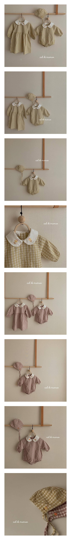 CIEL DE MAMAN - Korean Children Fashion - #Kfashion4kids - Eveline Bodysuit