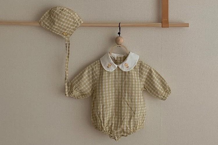 CIEL DE MAMAN - BRAND - Korean Children Fashion - #Kfashion4kids - Eveline Bodysuit