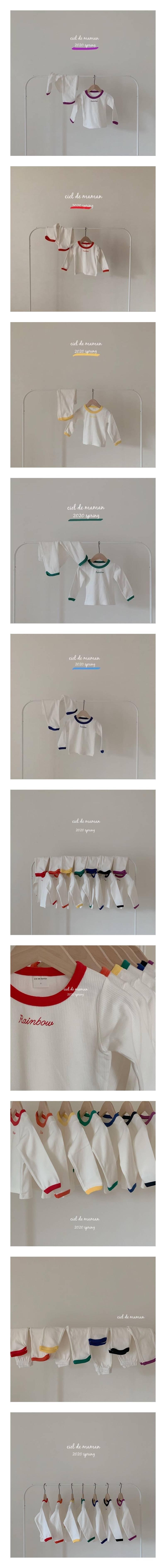 CIEL DE MAMAN - Korean Children Fashion - #Kfashion4kids - Rainbow Easywear