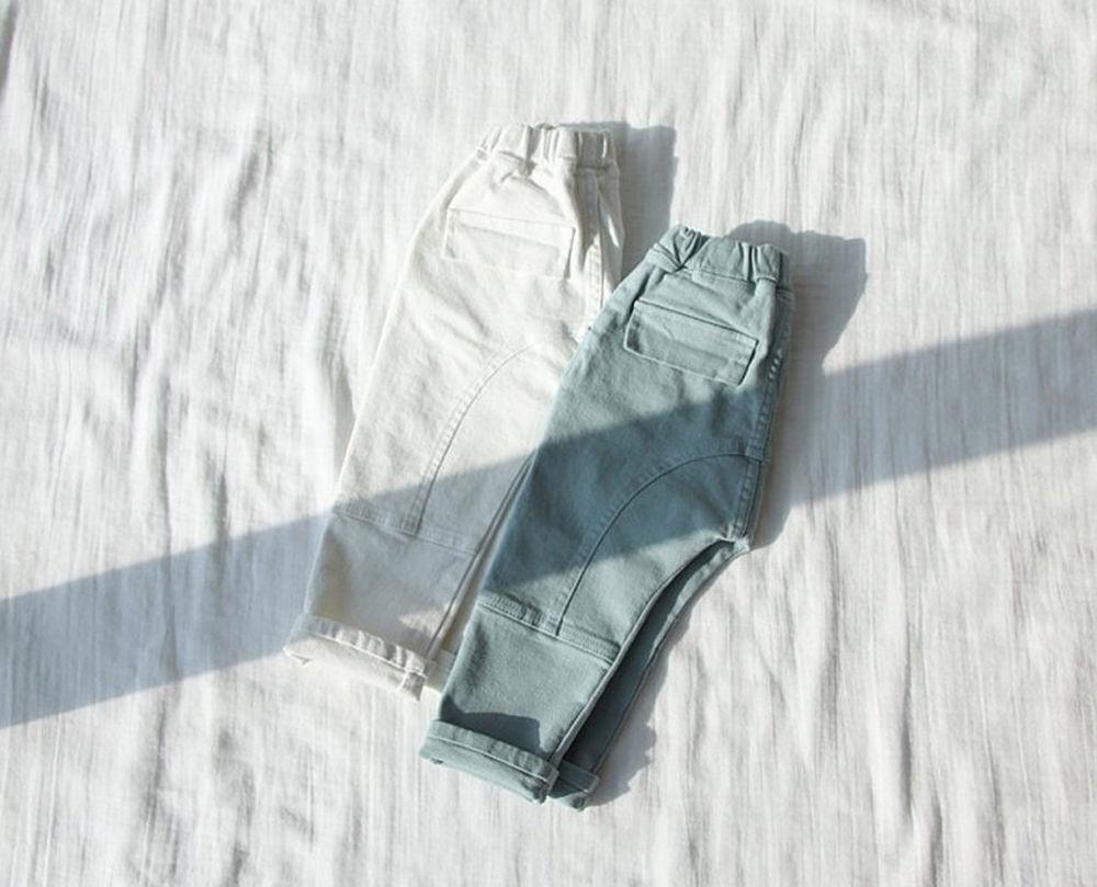 CREAMCOK - Korean Children Fashion - #Kfashion4kids - Tone Down Baggy Pants
