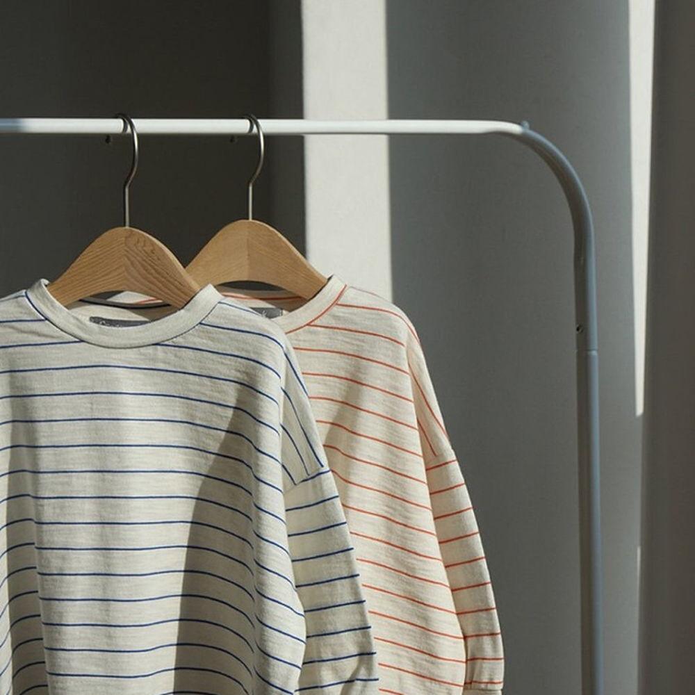 CREAMCOK - BRAND - Korean Children Fashion - #Kfashion4kids - Bold Stripe Tee
