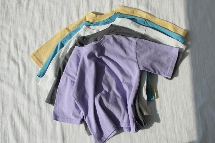 CREAMCOK - BRAND - Korean Children Fashion - #Kfashion4kids - Perfect Fit Midi Tee