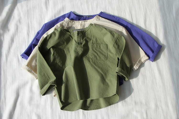 CREAMCOK - BRAND - Korean Children Fashion - #Kfashion4kids - Crazy Henlry Shirts