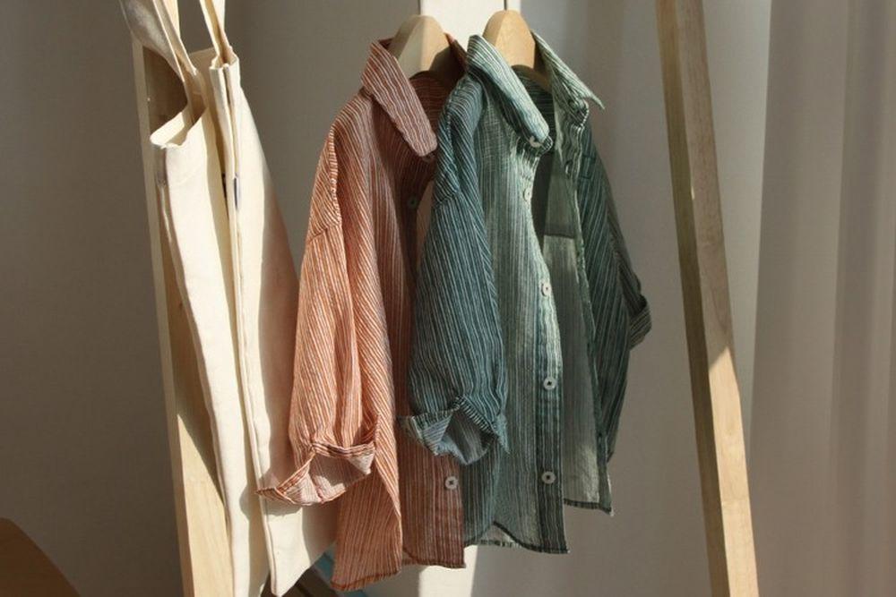 CREAMCOK - BRAND - Korean Children Fashion - #Kfashion4kids - Steady Stripe Shirts