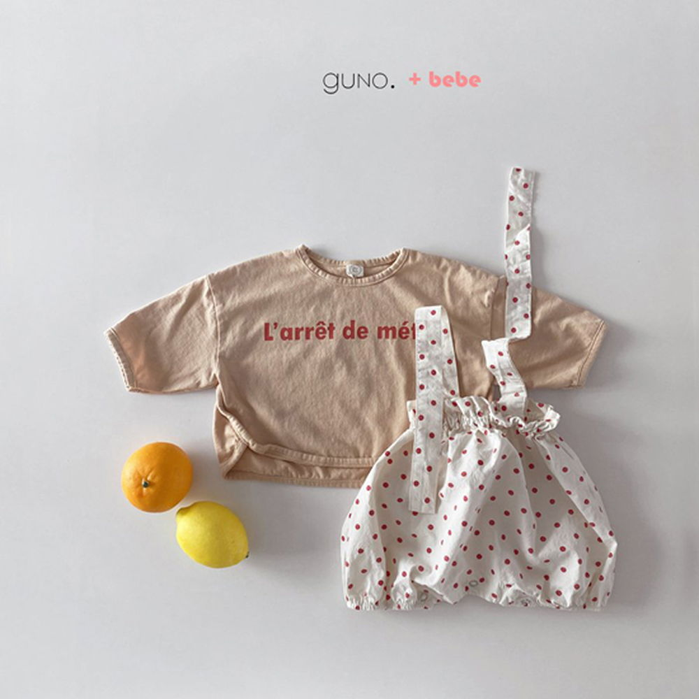 GUNO - Korean Children Fashion - #Kfashion4kids - Bebe String Boomer - 4