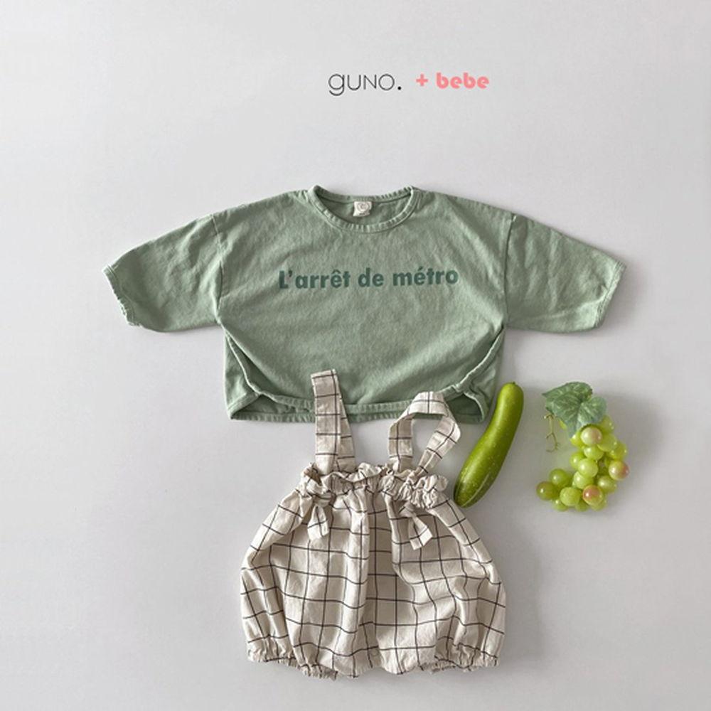 GUNO - Korean Children Fashion - #Kfashion4kids - Bebe String Boomer - 5