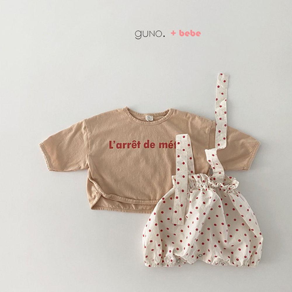 GUNO - Korean Children Fashion - #Kfashion4kids - Bebe String Boomer - 6