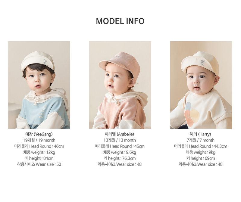 HAPPY PRINCE - Korean Children Fashion - #Kfashion4kids - Miel Baby Cap - 11