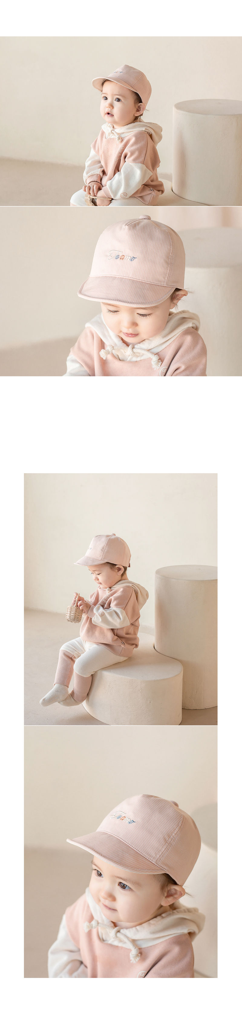 HAPPY PRINCE - Korean Children Fashion - #Kfashion4kids - Miel Baby Cap - 4