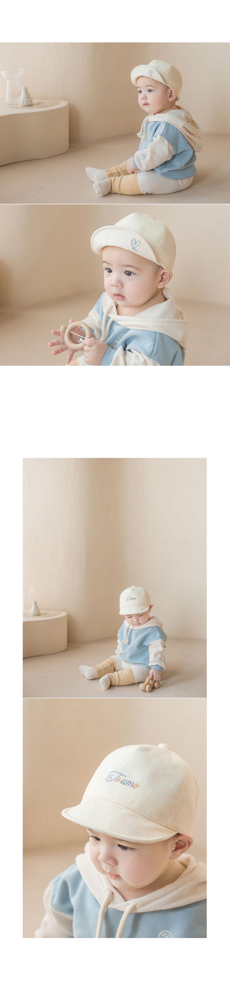 HAPPY PRINCE - Korean Children Fashion - #Kfashion4kids - Miel Baby Cap - 6
