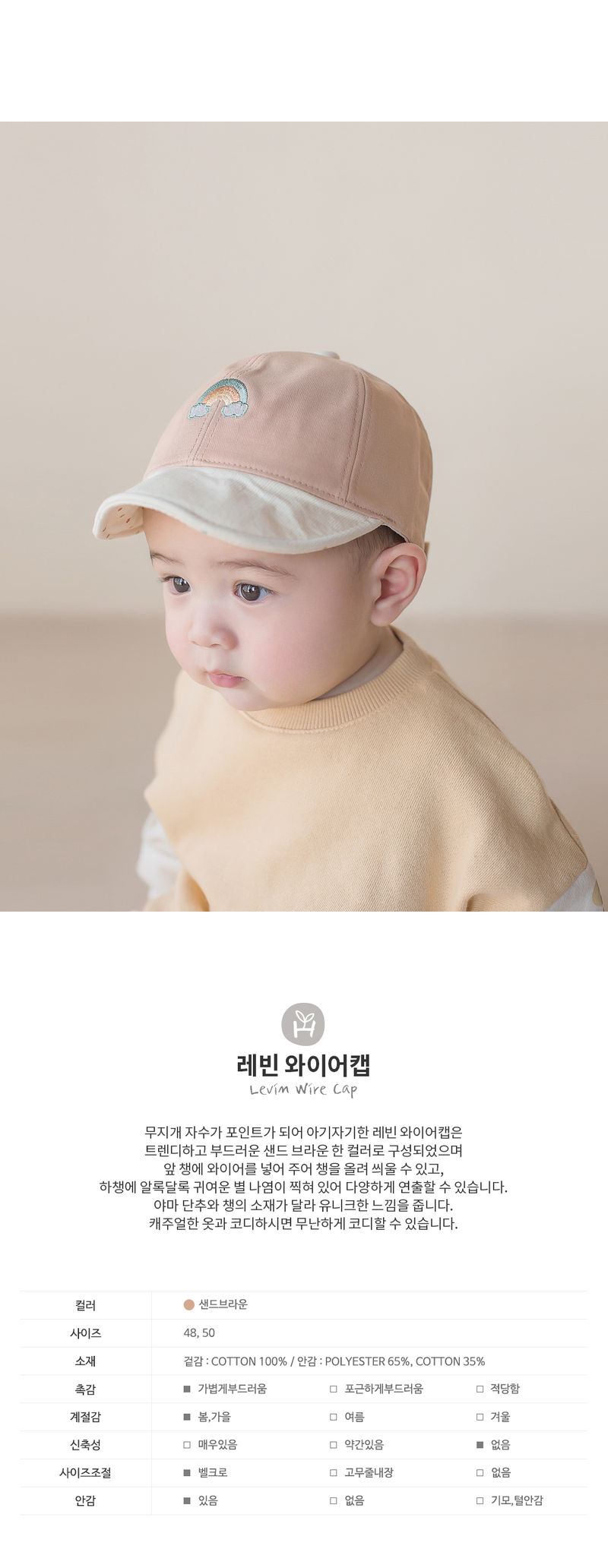 HAPPY PRINCE - Korean Children Fashion - #Kfashion4kids - Levin Wire Cap