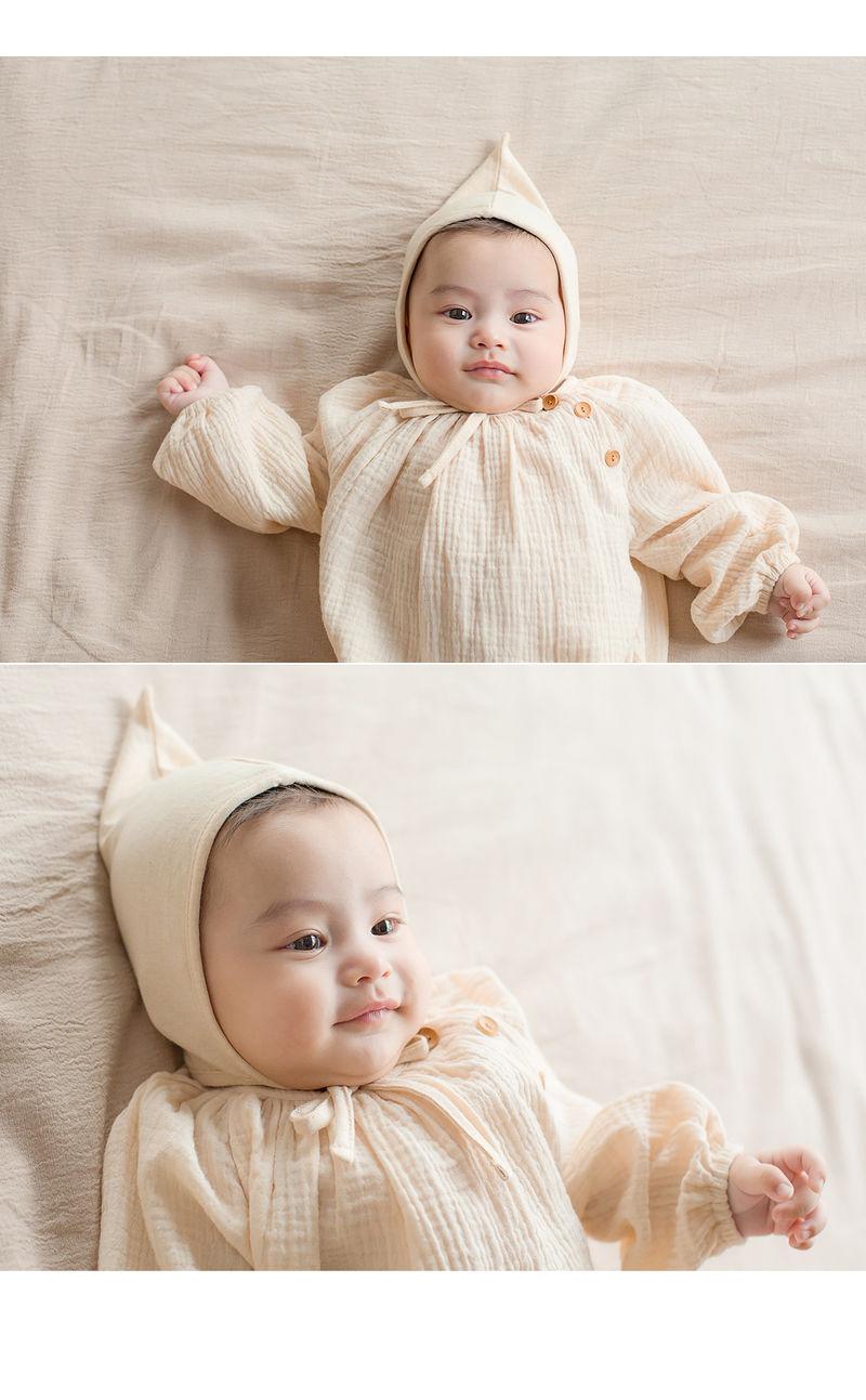 HAPPY PRINCE - Korean Children Fashion - #Kfashion4kids - Momo Organic Bonnet - 2
