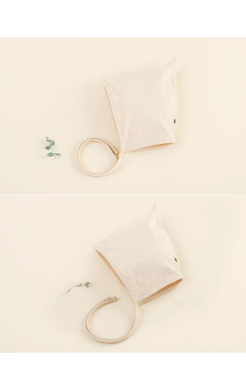 HAPPY PRINCE - Korean Children Fashion - #Kfashion4kids - Momo Organic Bonnet - 3