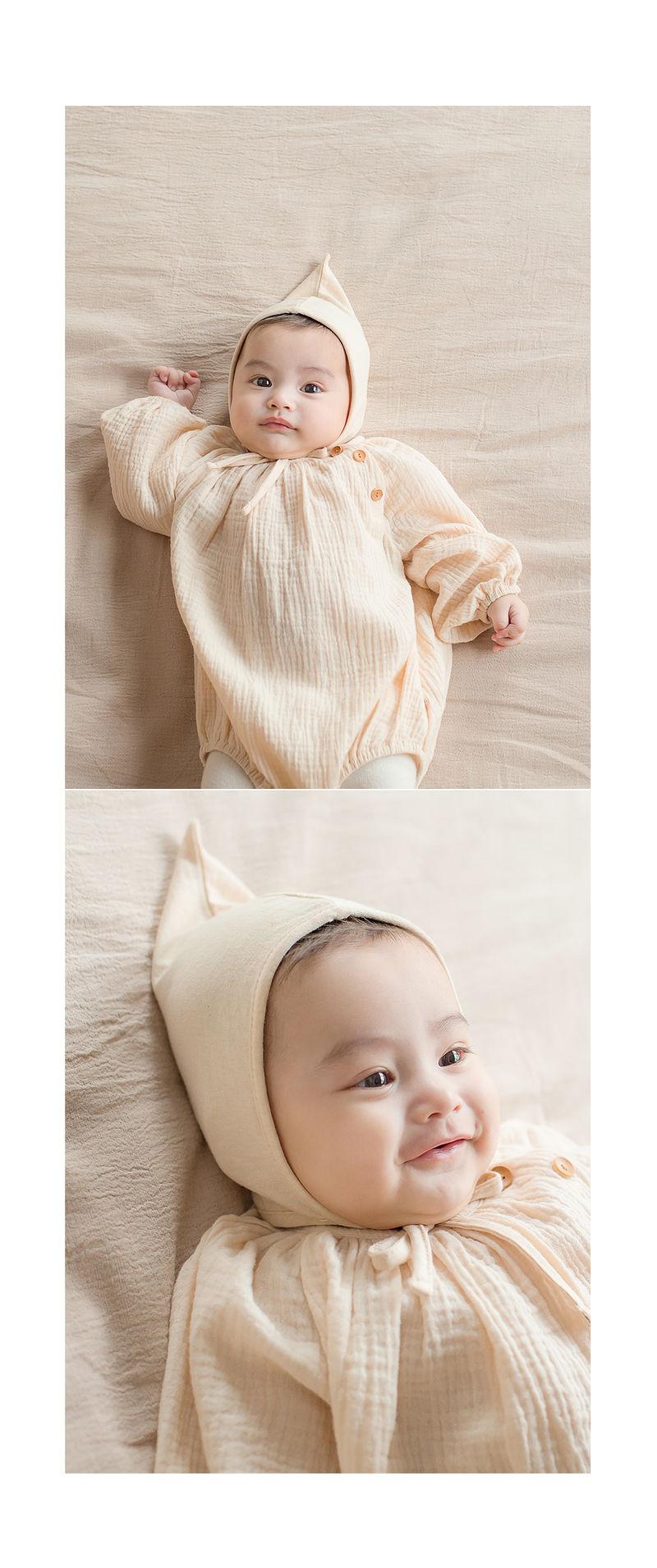 HAPPY PRINCE - Korean Children Fashion - #Kfashion4kids - Momo Organic Bonnet - 4
