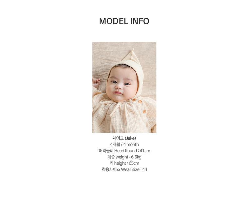 HAPPY PRINCE - Korean Children Fashion - #Kfashion4kids - Momo Organic Bonnet - 8