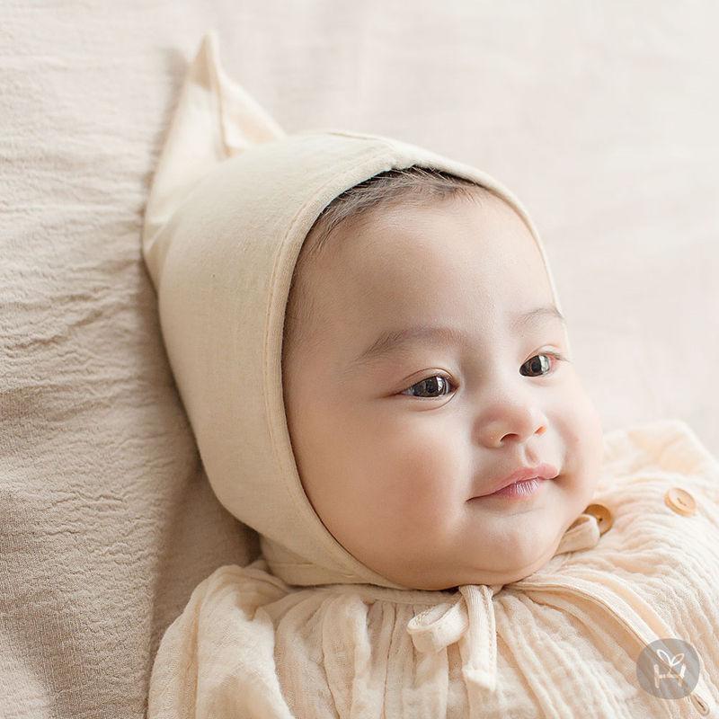 HAPPY PRINCE - BRAND - Korean Children Fashion - #Kfashion4kids - Momo Organic Bonnet