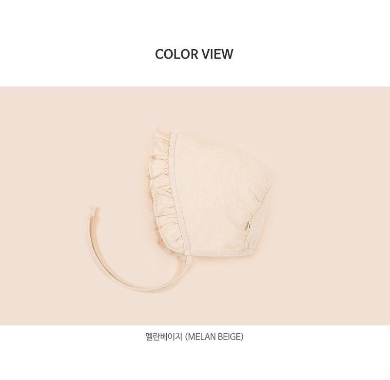 HAPPY PRINCE - Korean Children Fashion - #Kfashion4kids - Lulu Organic Baby Bonnet - 3