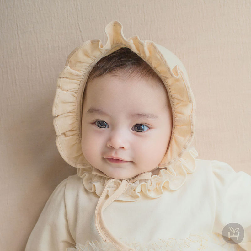 HAPPY PRINCE - BRAND - Korean Children Fashion - #Kfashion4kids - Lulu Organic Baby Bonnet