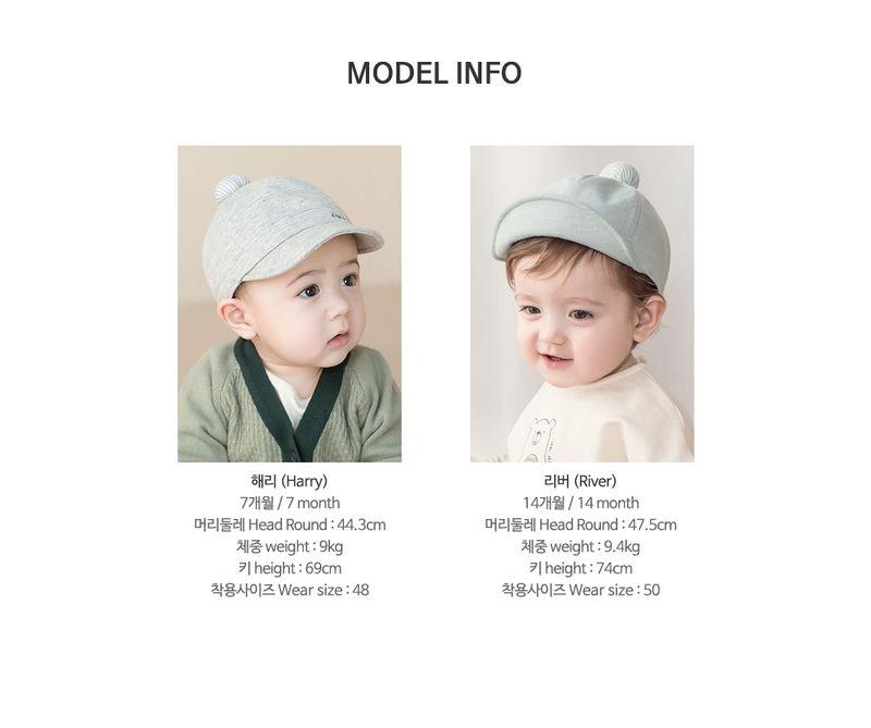 HAPPY PRINCE - Korean Children Fashion - #Kfashion4kids - Croquis Wire Cap - 10