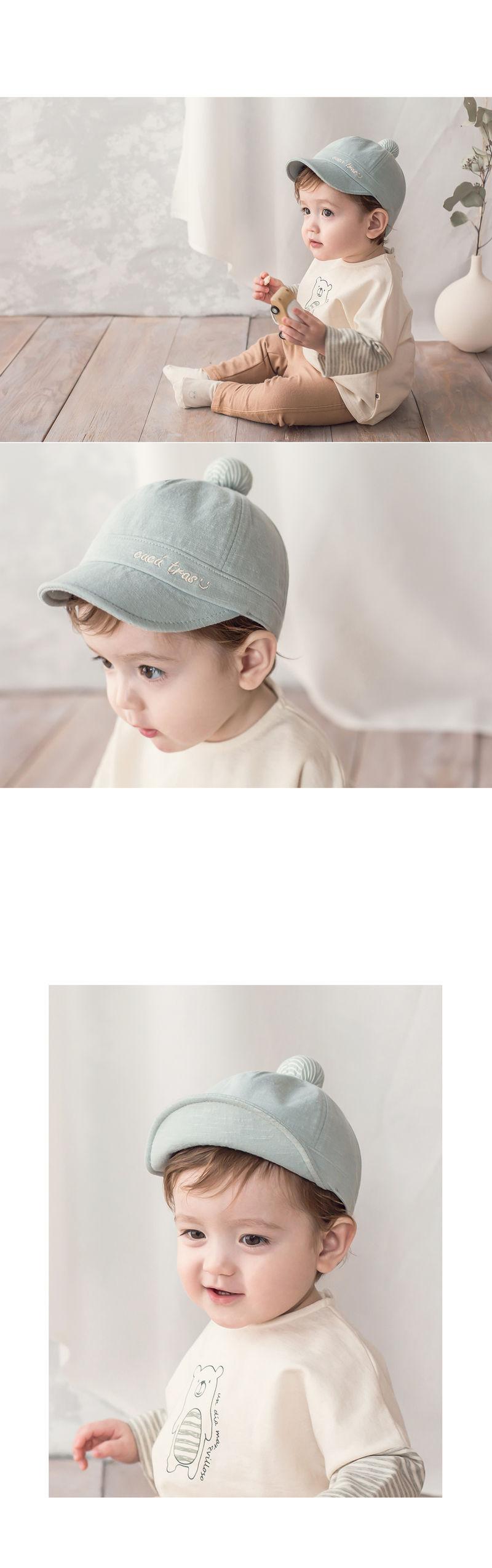 HAPPY PRINCE - Korean Children Fashion - #Kfashion4kids - Croquis Wire Cap - 3