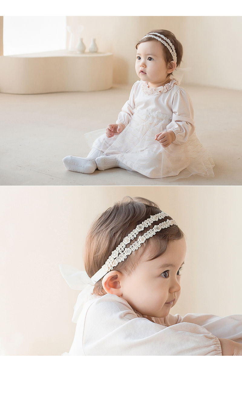 HAPPY PRINCE - Korean Children Fashion - #Kfashion4kids - Babara Lace Band [set of 5] - 2