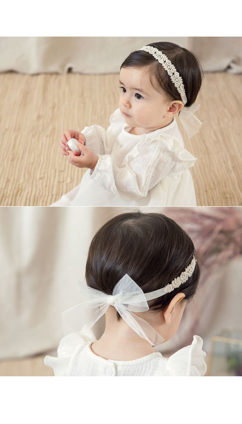 HAPPY PRINCE - Korean Children Fashion - #Kfashion4kids - Babara Lace Band [set of 5] - 5