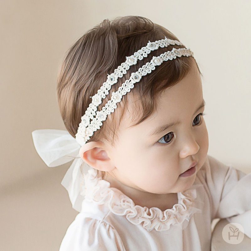 HAPPY PRINCE - BRAND - Korean Children Fashion - #Kfashion4kids - Babara Lace Band [set of 5]