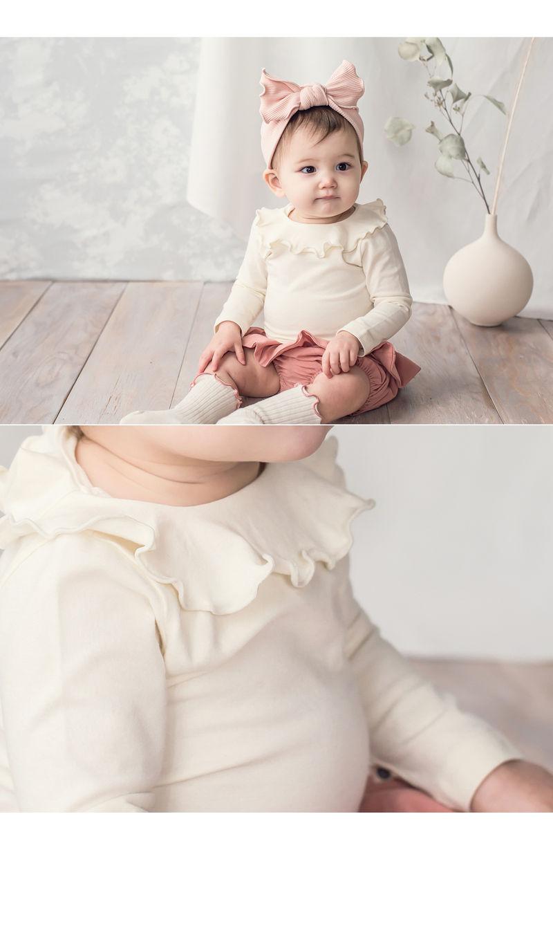 HAPPY PRINCE - Korean Children Fashion - #Kfashion4kids - Moro Frill Baby T - 2