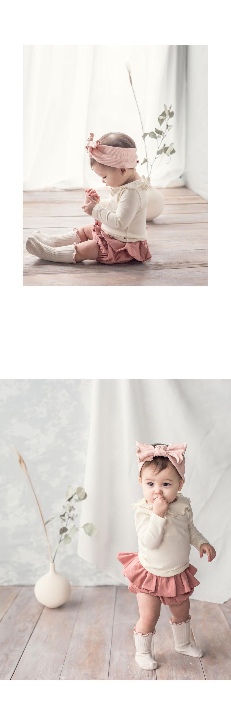HAPPY PRINCE - Korean Children Fashion - #Kfashion4kids - Moro Frill Baby T - 3
