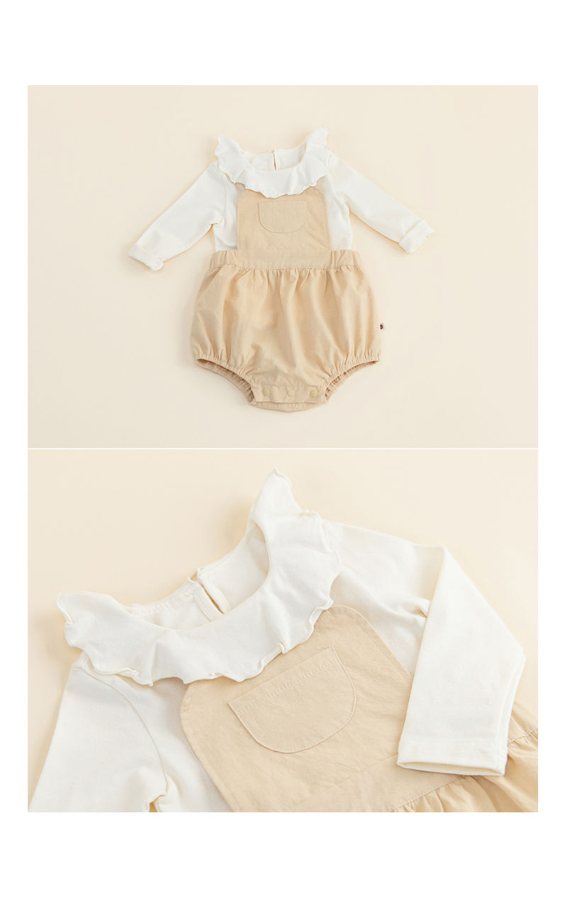 HAPPY PRINCE - Korean Children Fashion - #Kfashion4kids - Moro Frill Baby T - 4