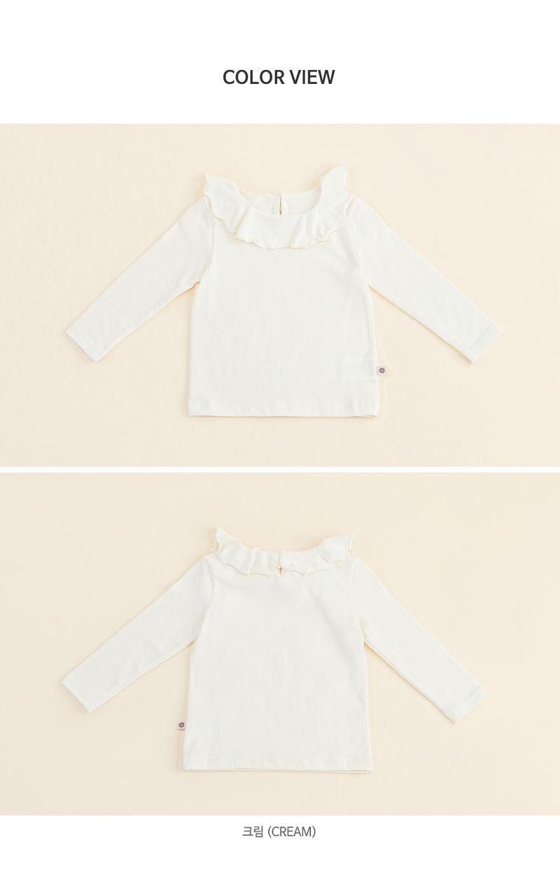 HAPPY PRINCE - Korean Children Fashion - #Kfashion4kids - Moro Frill Baby T - 7