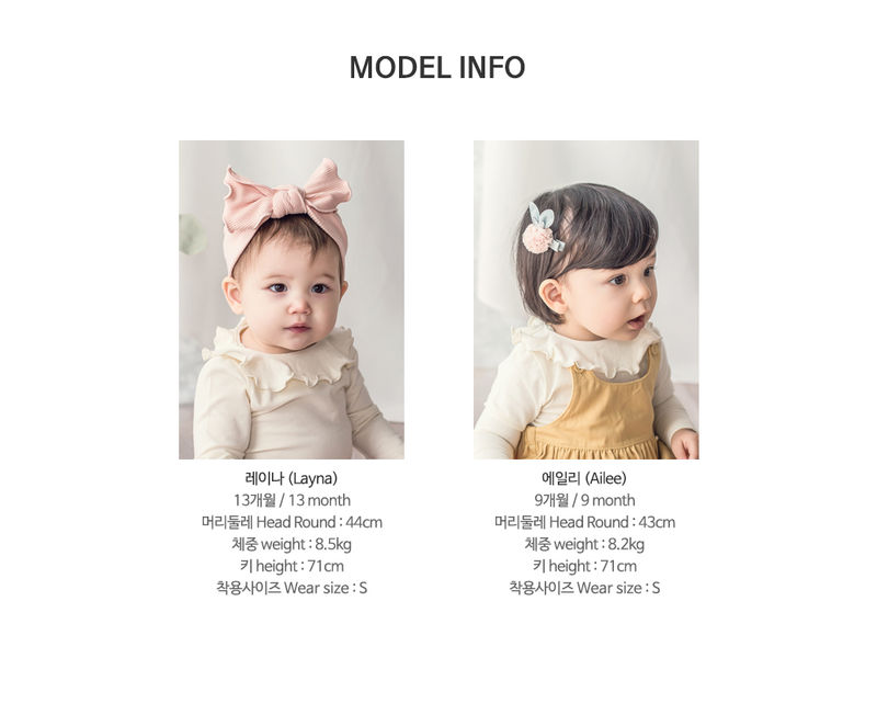 HAPPY PRINCE - Korean Children Fashion - #Kfashion4kids - Moro Frill Baby T - 9