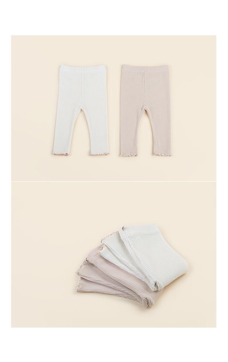 HAPPY PRINCE - Korean Children Fashion - #Kfashion4kids - Nikita Baby Leggings - 4
