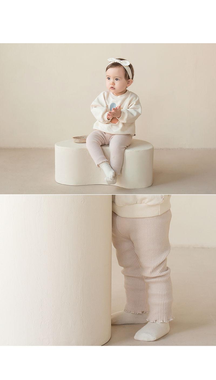 HAPPY PRINCE - Korean Children Fashion - #Kfashion4kids - Nikita Baby Leggings - 6