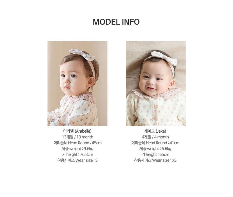 HAPPY PRINCE - Korean Children Fashion - #Kfashion4kids - Vane Body Suit + Hairband - 10
