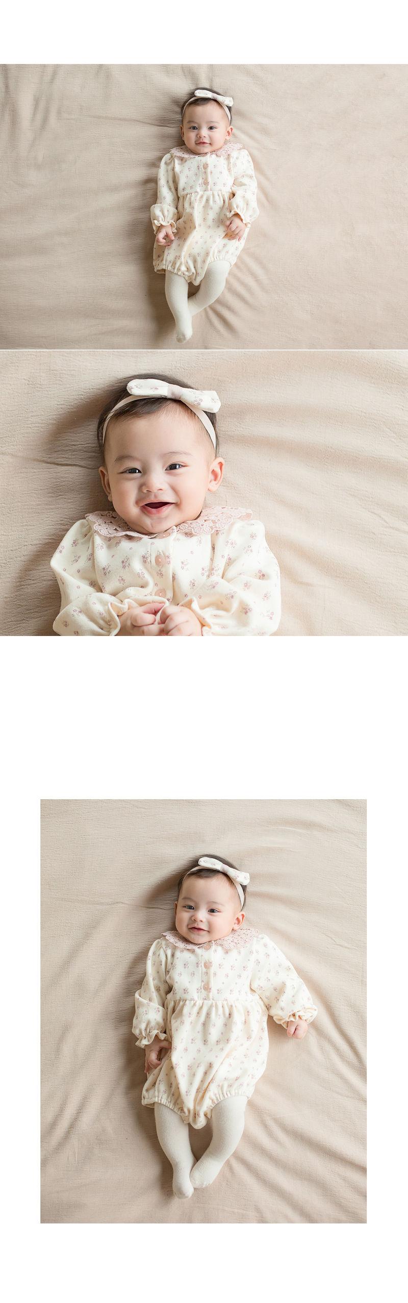 HAPPY PRINCE - Korean Children Fashion - #Kfashion4kids - Vane Body Suit + Hairband - 5
