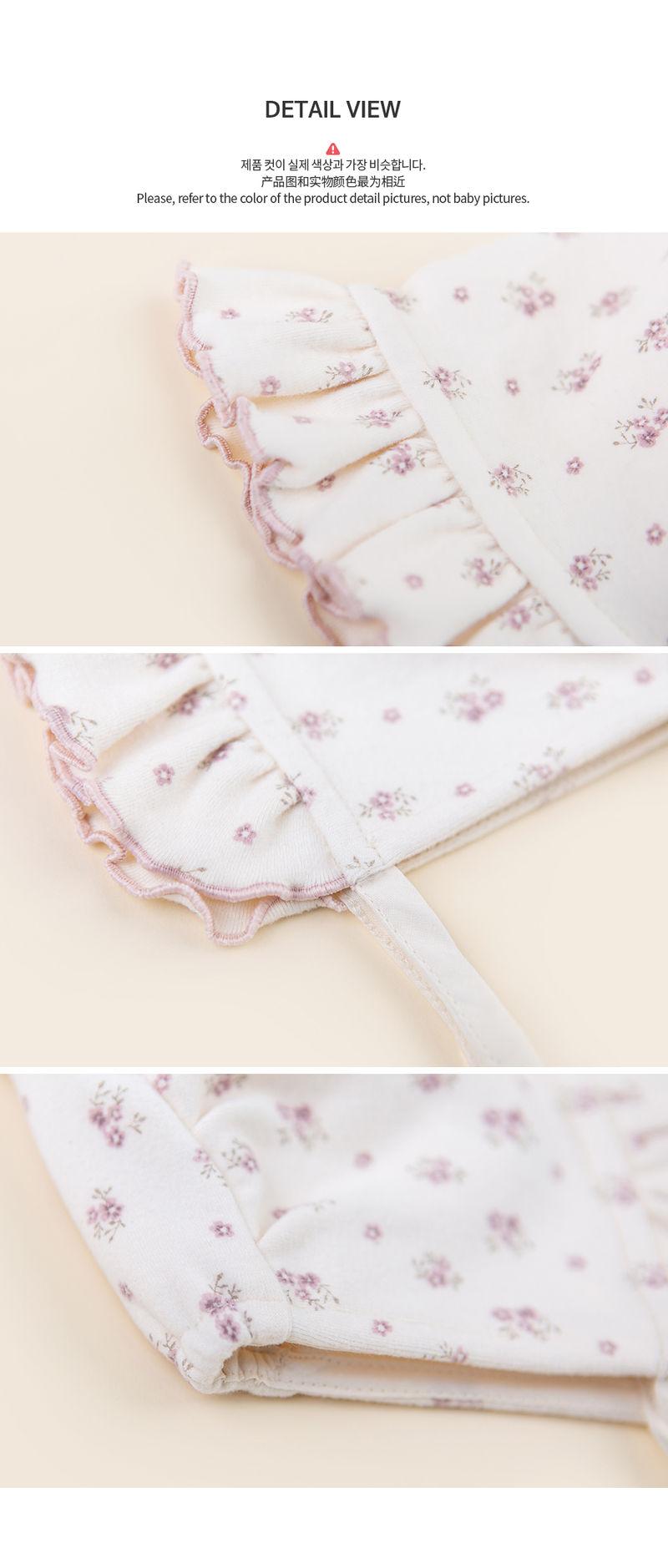 HAPPY PRINCE - Korean Children Fashion - #Kfashion4kids - Vane Frill Baby Bonnet - 7