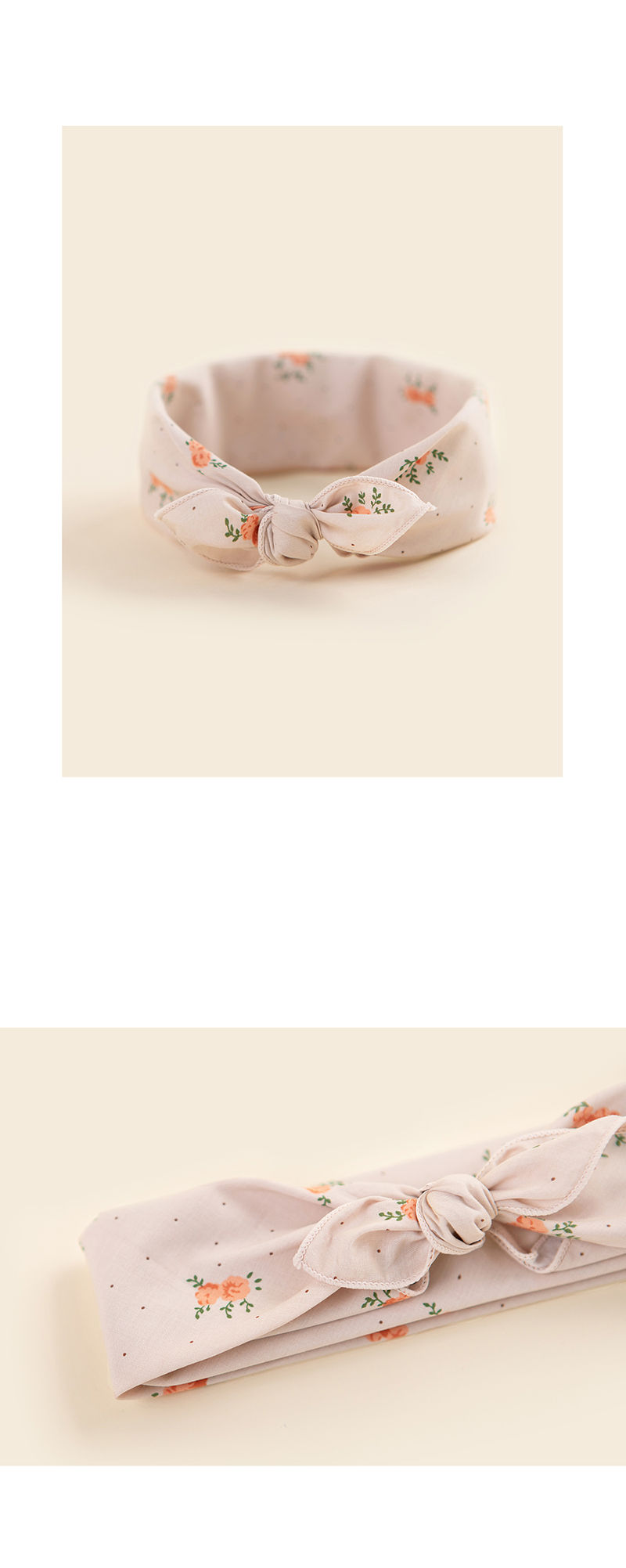 HAPPY PRINCE - Korean Children Fashion - #Kfashion4kids - Rose Bowl Baby Scarf - 3