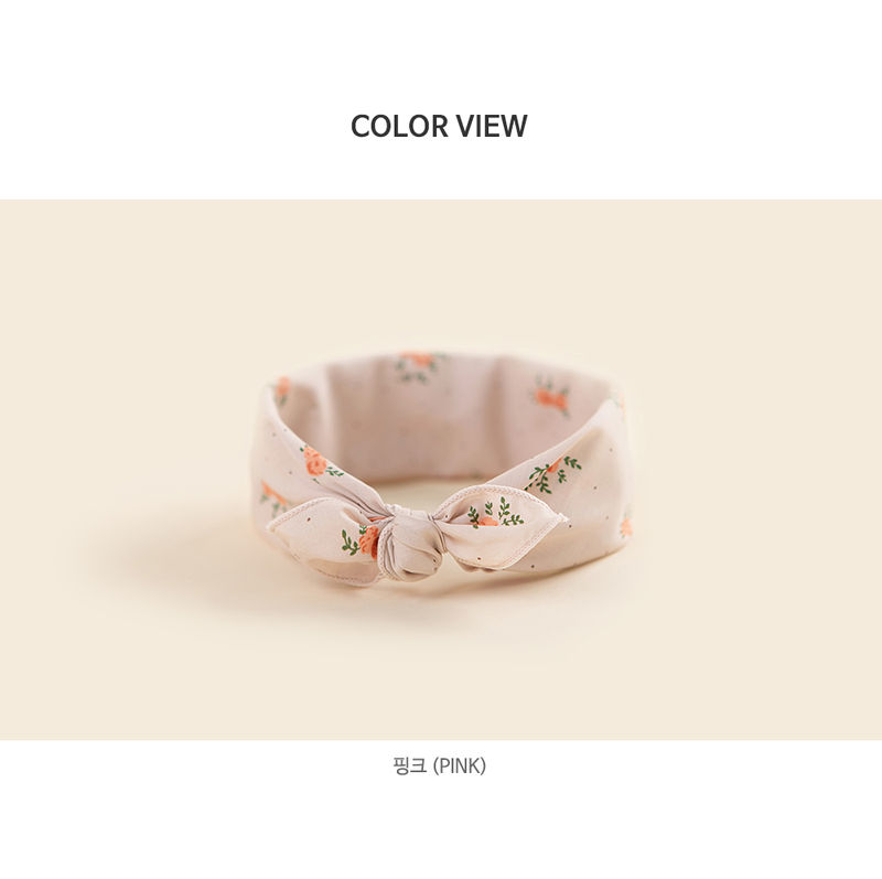 HAPPY PRINCE - Korean Children Fashion - #Kfashion4kids - Rose Bowl Baby Scarf - 5